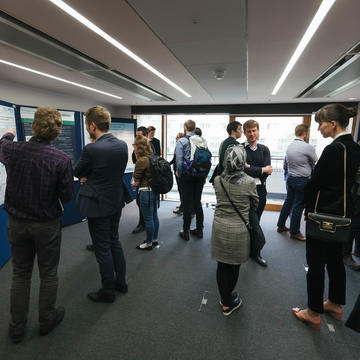 Poster area at the Oxford Battery Modelling Symposium 2019