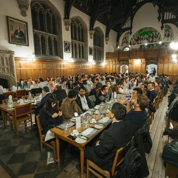 The Banquet at the Oxford Battery Modelling Symposium 2019